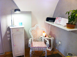 Espace Changement - Massage relaxant Antibes - O'coeur